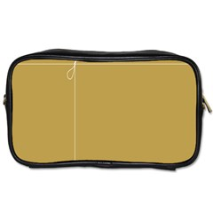 Brown Paper Packages Toiletries Bags 2-Side