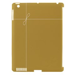 Brown Paper Packages Apple iPad 3/4 Hardshell Case (Compatible with Smart Cover)