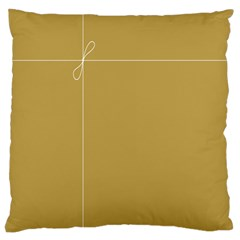 Brown Paper Packages Large Cushion Case (Two Sides)