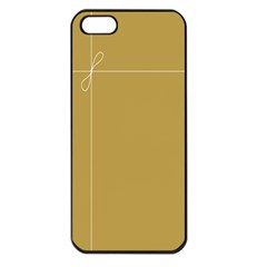 Brown Paper Packages Apple iPhone 5 Seamless Case (Black)