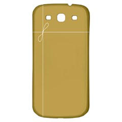Brown Paper Packages Samsung Galaxy S3 S III Classic Hardshell Back Case