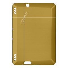 Brown Paper Packages Kindle Fire HDX Hardshell Case