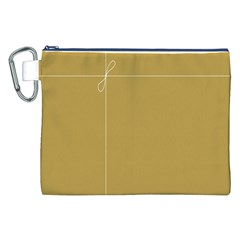 Brown Paper Packages Canvas Cosmetic Bag (XXL)