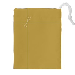 Brown Paper Packages Drawstring Pouches (XXL)