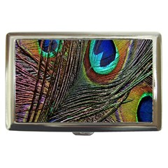 Peacock Feathers Cigarette Money Cases