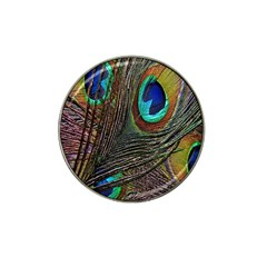 Peacock Feathers Hat Clip Ball Marker