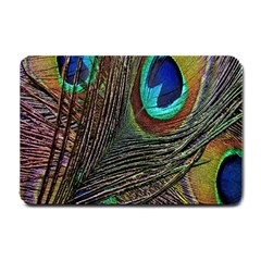 Peacock Feathers Small Doormat