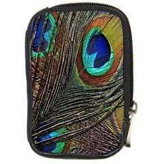 Peacock Feathers Compact Camera Cases