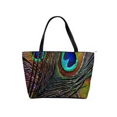 Peacock Feathers Shoulder Handbags