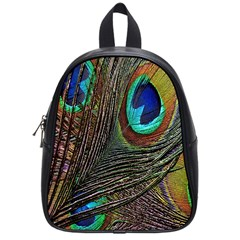 Peacock Feathers School Bags (small)