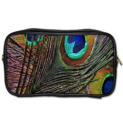 Peacock Feathers Toiletries Bags