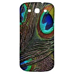 Peacock Feathers Samsung Galaxy S3 S III Classic Hardshell Back Case