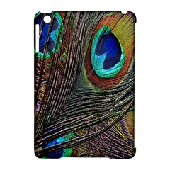 Peacock Feathers Apple Ipad Mini Hardshell Case (compatible With Smart Cover)