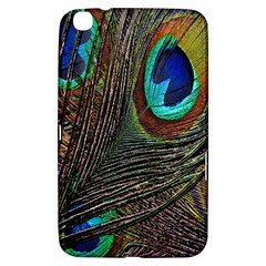 Peacock Feathers Samsung Galaxy Tab 3 (8 ) T3100 Hardshell Case