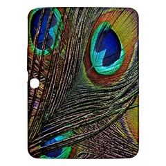 Peacock Feathers Samsung Galaxy Tab 3 (10.1 ) P5200 Hardshell Case