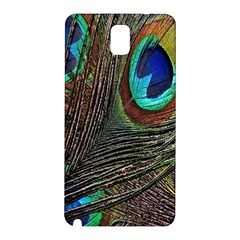 Peacock Feathers Samsung Galaxy Note 3 N9005 Hardshell Back Case