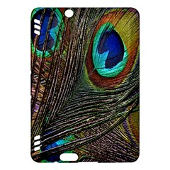 Peacock Feathers Kindle Fire Hdx Hardshell Case