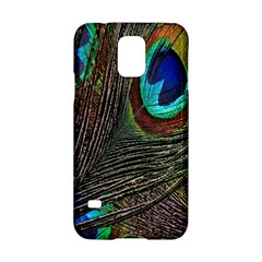 Peacock Feathers Samsung Galaxy S5 Hardshell Case