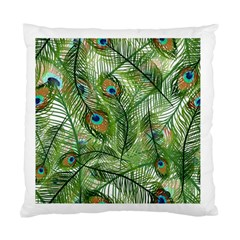 Peacock Feathers Pattern Standard Cushion Case (two Sides)