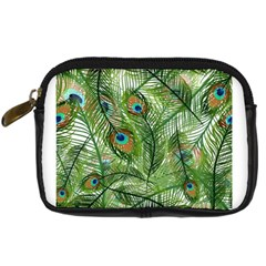 Peacock Feathers Pattern Digital Camera Cases