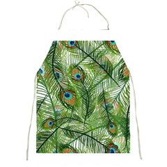 Peacock Feathers Pattern Full Print Aprons