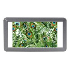 Peacock Feathers Pattern Memory Card Reader (Mini)