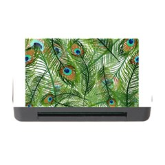 Peacock Feathers Pattern Memory Card Reader with CF
