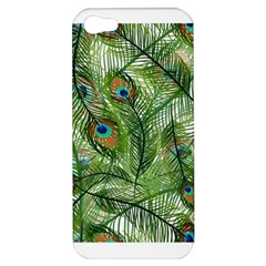 Peacock Feathers Pattern Apple iPhone 5 Hardshell Case