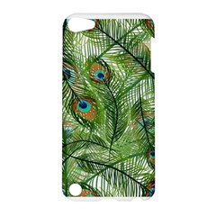 Peacock Feathers Pattern Apple Ipod Touch 5 Hardshell Case