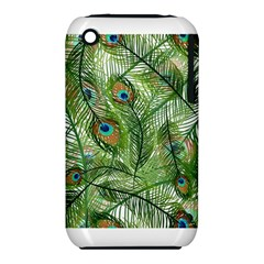 Peacock Feathers Pattern iPhone 3S/3GS