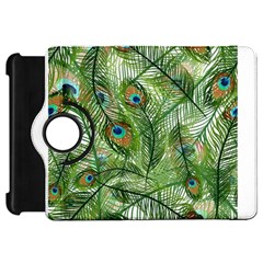Peacock Feathers Pattern Kindle Fire Hd 7