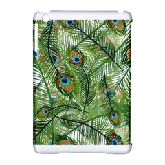 Peacock Feathers Pattern Apple Ipad Mini Hardshell Case (compatible With Smart Cover)