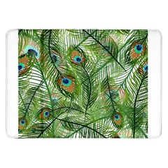 Peacock Feathers Pattern Samsung Galaxy Tab 8.9  P7300 Flip Case