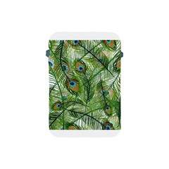 Peacock Feathers Pattern Apple iPad Mini Protective Soft Cases