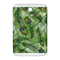 Peacock Feathers Pattern Samsung Galaxy Note 8.0 N5100 Hardshell Case