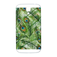 Peacock Feathers Pattern Samsung Galaxy S4 I9500/I9505  Hardshell Back Case