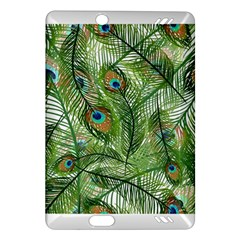 Peacock Feathers Pattern Amazon Kindle Fire HD (2013) Hardshell Case