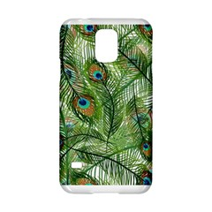 Peacock Feathers Pattern Samsung Galaxy S5 Hardshell Case