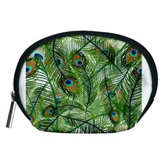 Peacock Feathers Pattern Accessory Pouches (Medium)