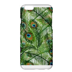 Peacock Feathers Pattern Apple iPhone 6 Plus/6S Plus Hardshell Case