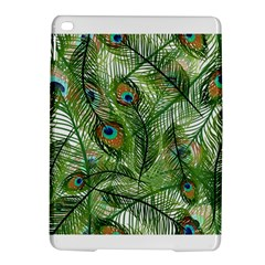 Peacock Feathers Pattern iPad Air 2 Hardshell Cases