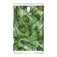 Peacock Feathers Pattern Samsung Galaxy Tab S (8.4 ) Hardshell Case