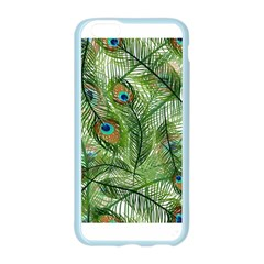 Peacock Feathers Pattern Apple Seamless iPhone 6/6S Case (Color)