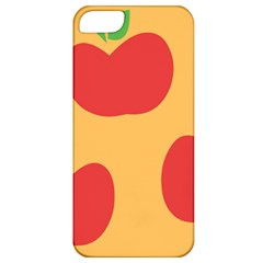 Apple Fruit Red Orange Apple iPhone 5 Classic Hardshell Case