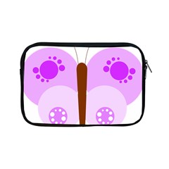 Butterfly Flower Valentine Animals Purple Brown Apple iPad Mini Zipper Cases