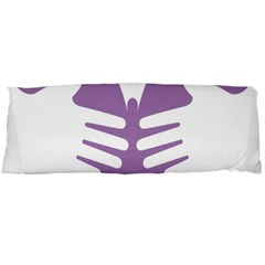 Colorful Butterfly Hand Purple Animals Body Pillow Case Dakimakura (Two Sides)