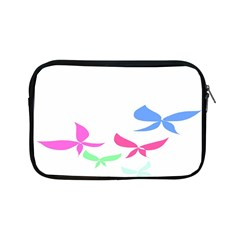 Colorful Butterfly Blue Red Pink Brown Fly Leaf Animals Apple iPad Mini Zipper Cases