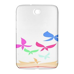 Colorful Butterfly Blue Red Pink Brown Fly Leaf Animals Samsung Galaxy Note 8.0 N5100 Hardshell Case