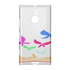 Colorful Butterfly Blue Red Pink Brown Fly Leaf Animals Nokia Lumia 1520