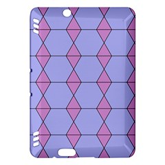 Demiregular Purple Line Triangle Kindle Fire HDX Hardshell Case